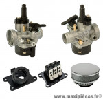 Pack carburation racing pour motorisation minarelli am6 aprilia rs rx 50 peugeot xp6 xps yamaha tzr ...