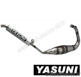 Pot d'échappement Yasuni spr3 pour 50 à boite, modèle am6, beta rk6, rieju rmx …