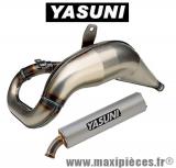 pot yasuni cross lm (passage haut) pour suzuki rmx silencieux silver 2 parties.