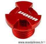 Bouchon rouge voca pour carter d'huile de boite 50 a boite moteur derbi senda euro 2/3