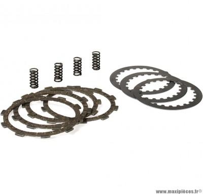 Kit disque d'embrayage malossi pour moteur minarelli am6 yamaha tzr, dt…