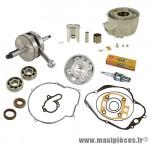 Pack kit moteur alu complet doppler vortex pour minarelli am6, Peugeot xp6, xps…