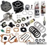 pack réfection moteur type origine(haut moteur, vilo, roulement, joint...)pour: euro2 derbi gpr 50 racing r nude senda drd sm x-treme...(moteur ebs050)
