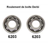 Kit roulement pour boîte de vitesse Derbi euro 2/3