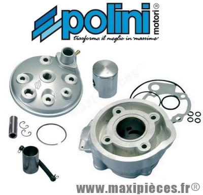 kit haut moteur 50cc polini alu pour minarelli am6, Mbk x-power, yamaha tzr 50…