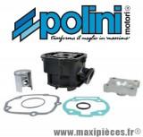 kit haut moteur 50 cc polini fonte euro 3 pour derbi senda drd, gpr, gilera smt…