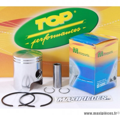 Piston de 50 a boite top performances pour cyl fonte euro 3 derbi senda drd x-treme x-race sm gpr…