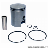 PISTON 50 A BOITE POUR: MINARELLI 50 AM6/MBK 50 X-POWER, X-LIMIT/YAMAHA 50 TZR, DTR/PEUGEOT 50 XPS/RIEJU 50 RS1/BETA 50 RR/APRILIA 50 RS 1995>2005  (TYPE ORIGINE)