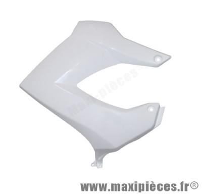Cache latéral de réservoir droit blanc pour 50 a boite derbi senda