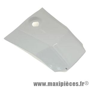 Couvre réservoir blanc brillant pour 50 a boite derbi senda drd x-treme x-race