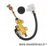 Maitre cylindre de frein arrière universel pour mécaboite (Entraxe 45mm)