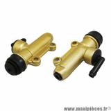 Maitre cylindre de frein arrière adaptable derbi senda, rieju 50cc entraxe 40mm