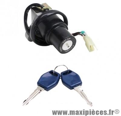 Contacteur a clé serrure neiman 50cc : mbk x-power tzr x limit yamaha dt 50 ...