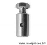 Serre câble de frein pour cyclomoteur (Ø7mm) *Prix spécial !