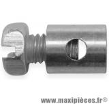 Serre câble de poignée gaz pour cyclomoteur Peugeot (Ø6mm)