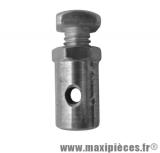Serre câble de gaz et frein avant pour cyclomoteur mbk (Ø6mm)