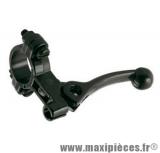 Levier de décompresseur pour cyclomoteur Mbk, Peugeot et autre (Alu noir)