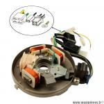Stator électronique avec platine et capteur 12V pour cyclomoteur Peugeot 103 * Prix spécial !