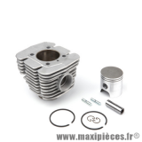Kit cylindre piston Airsal alu pour cyclomoteur Motobécane Motoconfort Mbk 88/89 motorisation AV7