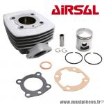 Kit cylindre Airsal alu nikasil pour cyclomoteur Peugeot 103 sp mvl spx rcx vogue z,104 et autre