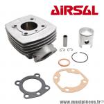 Kit cylindre Airsal t6 alu nikasil 6 transferts pour cyclomoteur Peugeot 103 sp mvl spx rcx vogue z,104 et autre