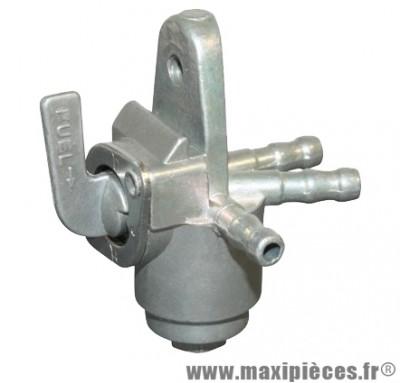 robinet essence applique 2 entrées adaptable honda dax city 1 et 2 (3 sorties)