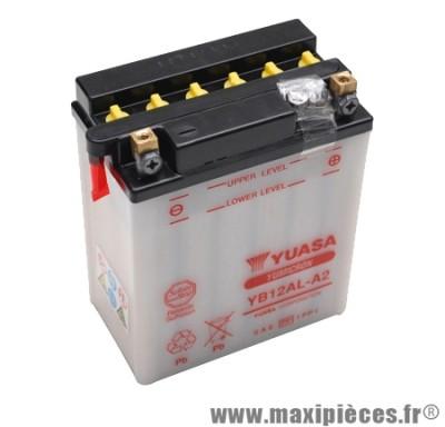 Prix spécial ! Batterie YB12AL-A2 12v / 12ah Yuasa pour moto