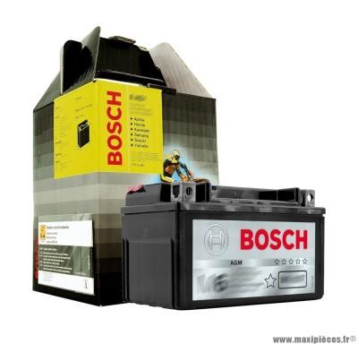 Déstockage ! Batterie 12v / 11ah yb10l-b2-bs Bosch pour maxiscooter, moto, quad,...