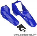 Kit carrosserie/carénage bleu adaptable pour moto Yamaha pw 80cc