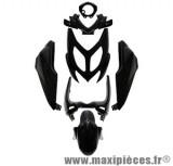 Kit carrosserie carénage noir pour mbk nitro yamaha aerox à partir de 2013