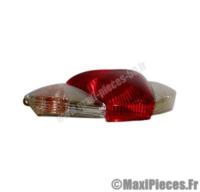 Feu arrière adaptable origine pour piaggio liberty 50/125cc a partir de 2009
