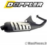 Pot d'echappement premium doppler pour gilera runner, stalker, piaggio nrg, ntt…