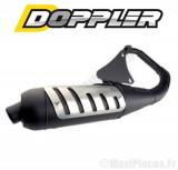 Pot d'echappement premium doppler pour mbk booster stunt yamaha bws...