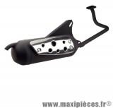 Pot d'échappement silent pro Tecnigas pour Peugeot v-clic 50 4T GY6 139QMB