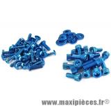 Kit vis déco bleu pour carrosserie mbk/yamaha Nitro Aérox 50cc
