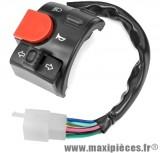 Commutateur/commodo gauche adaptable pour Mbk nitro, Yamaha aerox