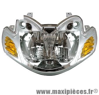 Phare optique avant adaptable origine pour Mbk mach g Yamaha jog 50CC