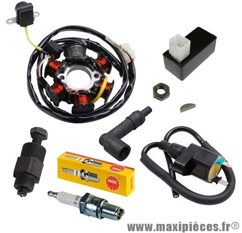 Pack allumage pour peugeot speedfight 1, x-fight, metal-x, tkr, vivacity…