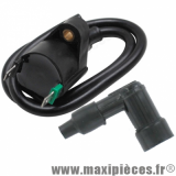 Bobine d'allumage extérieur haute tension avec antiparasite adaptable pour peugeot 103 électronique