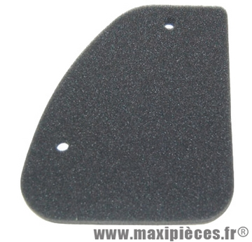 Mousse filtre a air adaptable pour peugeot speedfight, trekker, vivacity…