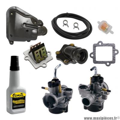 Pack carburation type origine pour mbk nitro, ovetto (2004> starter auto)
