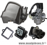 Pack carburation type origine pour peugeot ludix (starter auto)