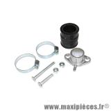 Prix spécial ! Pipe + manchon pour montage souple pour carburateur 50cc de 12 a 21 mm: peugeot trekker speedfight vivacity buxy zenith