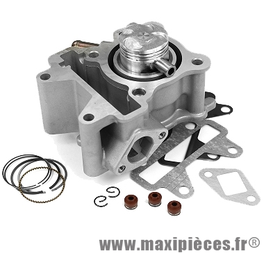 Kit cylindre piston alu 3 soupapes pour scooter Yamaha neo's, Aerox 50cc 4T