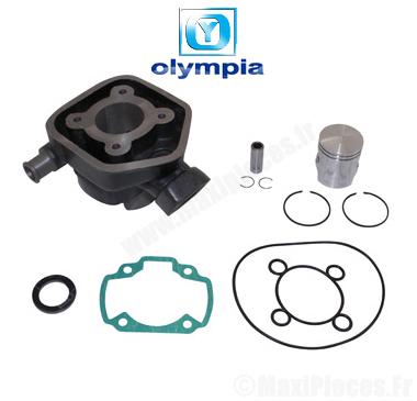 kit cylindre piston Olympia fonte pour Peugeot speedfight 1 et 2 (Liquide)