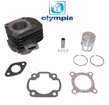 Kit cylindre piston Olympia fonte (axe de 12) pour cpi, hussar, oliver, popcorn…