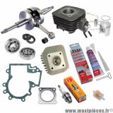 Pack kit moteur complet Polini pour peugeot ludix 50 2T one snake trend classic vivacity nouveaux model kisbee 2013