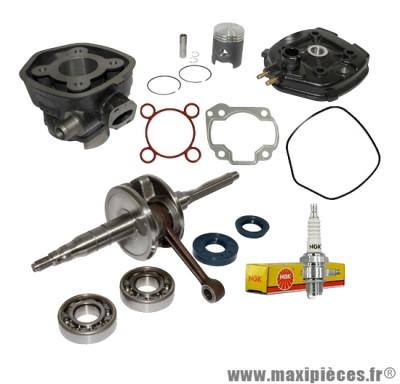 Pack kit moteur complet top perf black trophy mbk nitro mach-g yamaha aerox…