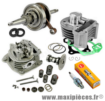 Pack moteur 139qma/b gy6 50cc 4T pour peugeot v-clic, kymco agility, vitality *…