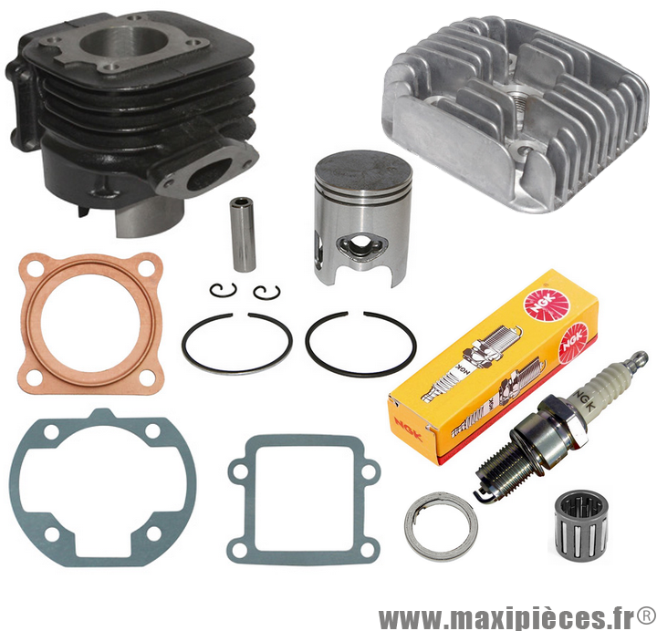 Pipe Cylindre Piston Clapets Cage à Aiguille Scooter MBK Stunt Slider 50